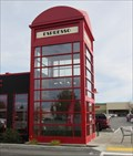 Image for Giant British Phone Booth - Spokane Valley, Washington