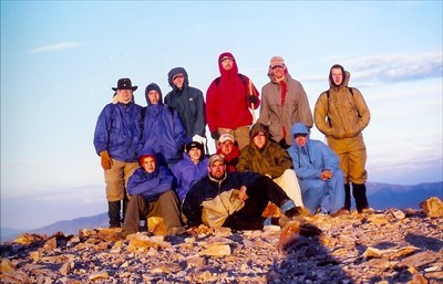 717/R2 on top of Baldy for sunrise July 23, 2001