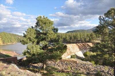 Santa fe dam williams arizona water dams on for Santa fe dam fishing