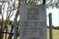 Image for Clinton Cemetery Gate - 1960 - Clinton, TX