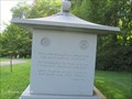 Image for Robert Frost - Fukuda Monument, Hope Cemetery - Barre, VT