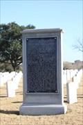 Image for Gettysburg Address -- Fort Sam Houston National Cemetery, San Antonio TX