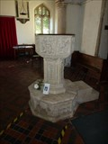 Image for Baptism Font - All Saints - Great Glemham, Suffolk