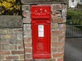 Image for Victorian Wall Post Box - Roecliffe, UK