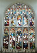Image for Stained Glass, St Mary's Church, Saffron Walden, Essex, UK