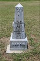 Image for A.J. Hardin - Howell Cemetery - Van Zandt County, TX