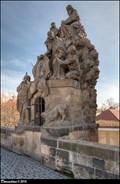 Image for St. John of Matha, St. Felix of Valois and St. Ivan on Charles Bridge / Sv. Jan z Mathy, Sv. Felix a Sv. Ivan na Karlove moste (Prague)