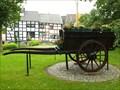Image for Hay wagon near the village square in Niederich - Rheinland-Pfalz / Germany