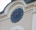 Image for Hodiny na budove radnice - Bochov, CZ