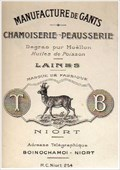Image for Manufacture de gants - Niort, France 1920