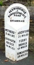 Image for Mile Stone - Bowcliffe Rd, Bramham, Yorkshire, UK