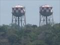 Image for Twin Water Towers - Gatun Locks, Panama
