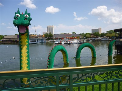 Lego Ness Monster - Downtown Disney