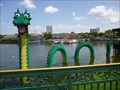 Image for Lego Ness Monster  - Downtown Disney - Lake Buena Vista, Florida.