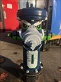 Image for Seattle Seahawks Fire Hydrant - Renton, WA, USA