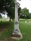Image for Tom B. and A.C. White - Rosston Cemetery - Rosston, TX