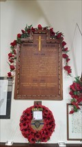Image for Roll of Honour board - St Peter & St Paul - Oxton, Nottinghamshire