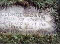 Image for George Evans Davis-Burlington, VT
