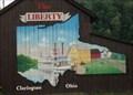 "Image for RIverboat ""Liberty"" Barn Mural  -  Clarington, OH"