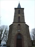 Image for Bell Tower of the Parish Church St. Stephan, Effelsberg - NRW / Germany