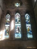 Image for Stained Glass Windows - St Mary and St Hardulph - Breedon on the Hill, Leicestershire, UK