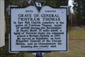 Image for Grave of General Tristram Thomas/Saw Mill Baptist Church SCHM 35-18