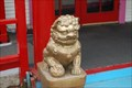 Image for Two lions in front of Chinese Restaurant, Arroyo Grande, California