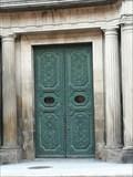 Image for Door of Diputación - Ourense, Galicia, España