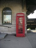 Image for Red Telephone Box - Kingston, Ontario, Canada