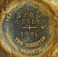 Image for Vertical Control Mark  Z 387 Reset - Waterville, WA