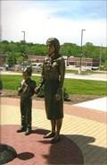 Image for Bronze Display Installed at Tribute to Veterans Memorial - Warrenton, MO