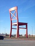Image for Ginormous Red Chair