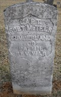 Image for Captain Robert Montgomery McTeer - Prospect, Blount Co., Tennessee