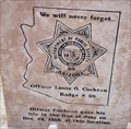 Image for Officer Louis O. Cochran - Dateland, AZ