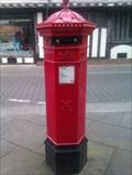 Image for REPLICA - Victorian Pillar Box - St Peter's Street/Silent Street - Ipswich, Suffolk