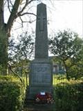 Image for Cheddington War Memorial - Buck's