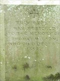 Image for Thomas Wilson, St Michael's, Salwarpe, Worcestershire, England