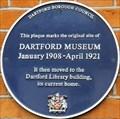 Image for Dartford Museum - Essex Road, Dartford, Kent, UK