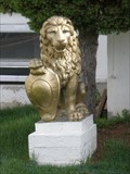 Image for Golden Lions at the Wat Buddhikaram Cambodian Buddhist Temple of Utah - West Valley City, UT