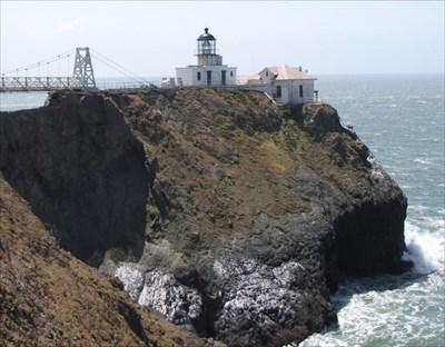 Point Bonita, Lighthouse and Bridge , Marin Headlands, California