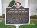 Image for A County Older Than The State - Blount County