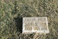 Image for Jacob Beck - St. Joseph's Cemetery - Clifton City, MO