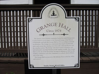 Old Alabama Town Sign