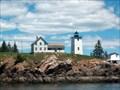 Image for Burnt Coat Harbor Light  (Hockamuck Head)