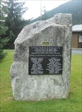 Image for 1965 Granduc Mine Disaster Memorial - Stewart, BC, Canada