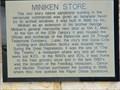 Image for Miniken Store marker - Batesville, Ar.