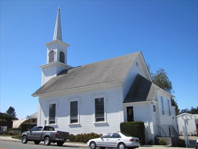 Congregational Church of Soquel, Left Side, Soquel, CA
