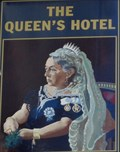 Image for The Queens Hotel - Pub Sign - Newport, Gwent, Wales