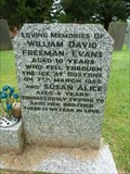 Image for William & Susan Evans - St Peter's church cemetary - Shackerstone, Leicstershire