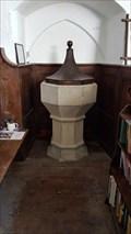 Image for Baptism Font - St Leonard - Baldesmere Lees, Kent
